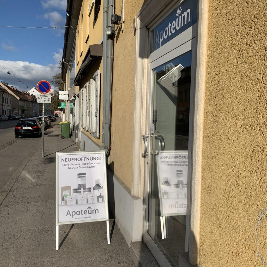 Apoteum shop Graz Austria