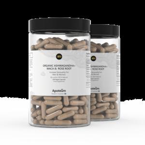 Bio-Ashwagandha + MACA & Rosenwurzel 2er-Pack Bundle