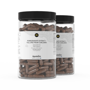 Granatapfel Extrakt+ Vollspektrum Curcumin 2er-Pack Bundle