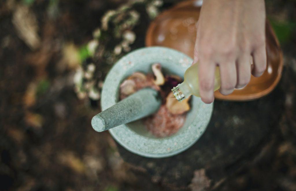 CBD und Aromatherapie