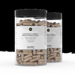 Indol 3-karbinol med broccoli 2-Pack