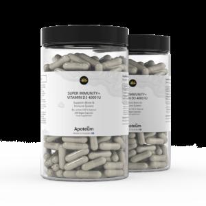 Super immunitet+ vitamin D3 4000 IE 2-Pack