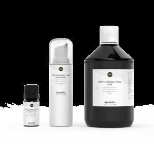Djuprengörande Handskum - Alkoholfri Bio Produkt med silver & eteriska oljor