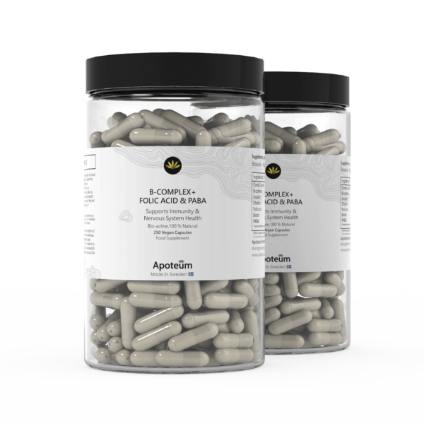 B-Complex + Folic Acid & PABA 2-Pack Bundle