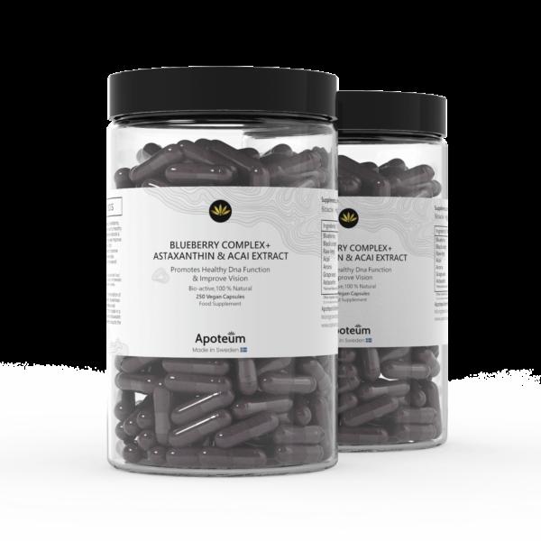 Blueberry Complex + Astaxanthin & Acai Extract 2-Pack Bundle