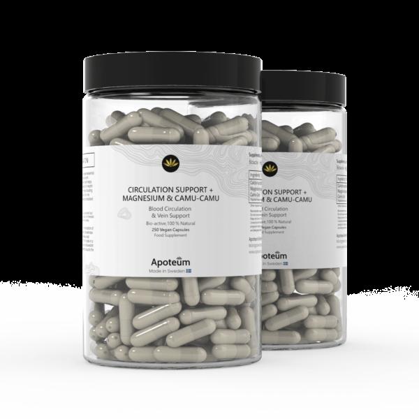 Circulation support + Magnesium & Camu-Camu 2-Pack Bundle