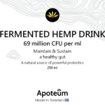 Fermented hemp drink