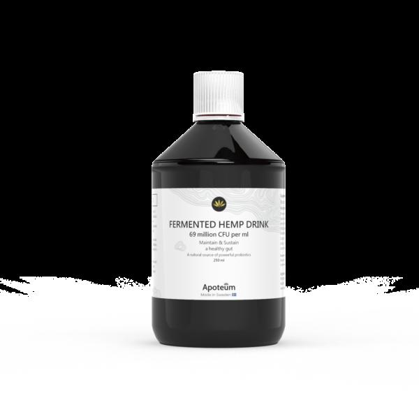 fermented hemp probiotic drink